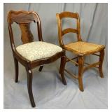 Two 19th Century side chairs