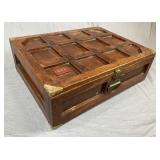Custom Made Wooden Gift Wrapping Trunk REO