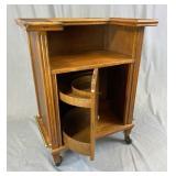 Circa 1960s Portable Bar Liquor Cabinet