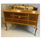 Early 20th C. Colonial Revival Sideboard w/ Mirror