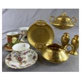 Vintage Decorative Porcelain - Gold Bavaria...