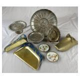 Group of Decorative Vintage Metal Work