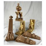 Group of Decorative Wood Carving