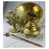 Group of Decorative Brass Items