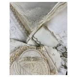 Fine Embroidery and Lace Table Linens REO
