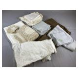 Assortment of Vintage Table Linens REO