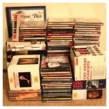 Lot of Assorted CDs & DVDs