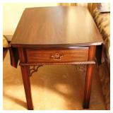 One-Drawer Drop-Side Table