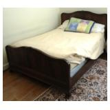 Full - Size Bed w/ Bedding