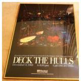 """Deck the Hulls"" Framed Print"