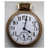 Elgin 17 Jewels 10k Gold Filled Pocket Watch