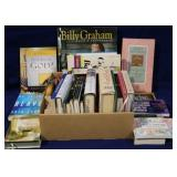 Box lot of assorted books