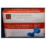 New in box  10lb dumbbell set