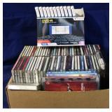 Box lot of CD