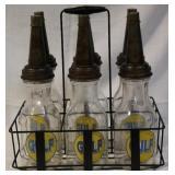 Gulf Oil bottles
