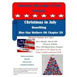 Christmas in July Blue Star Mothers OK Chapter 20