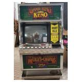 Game King Keno Machine - Non Functioning
