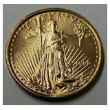 1998 - 1/10 Ounce American Eagle Gold Coin
