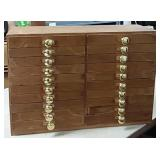 20 Drawer Cabinet/Jewelry Cabinet