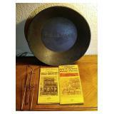Vintage Wells Fargo Metal Gold Miners Pan