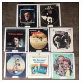 8 Vintage Video Discs