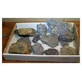 Silver, Pyrite , Galena Ore. 9 Lbs
