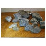 Silver, Pyrite, Galena Ore 7 Lbs 13oz