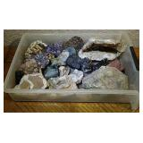 Collection of Minerals, Crystals & Lapidary Stones