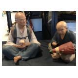 2 Hokata Figurines Japanese