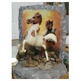 "Chuck DeHaan ""Blazing Glory"" Horse Figure"