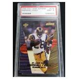 2000 Marshall Faulk St. Louis Rams Card
