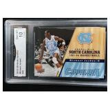 2010 Michael Jordan North Carolina Card