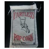 "Vintage ""Fartless Popcorn"" Bag"