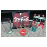 Assorted Coca Cola Collectibles