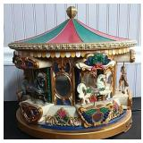 Carousel Electric Music Box