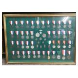 Frame of Swimming Medals