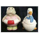 2 Animal Cookie Jars