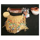 Assortment of Native American Style Items