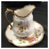 Imperial China Pitcher and Saucer