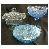 3 Pc. Blue Crystal