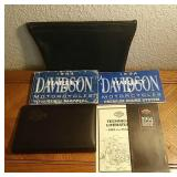 1994 Harley Davidson Manuals & Bag