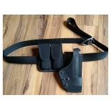 Gun Holster - Cartridge & Belt Set