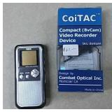 Compact Video Recorder, & Mini Voice Recorder