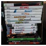 16 PS3, Xbox 360, DVD,  & WII Games