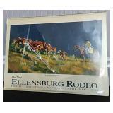 Ellensburg Rodeo Ad Poster