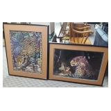 2 - Framed Leopard Prints