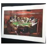 5 - Different Prints - Dogs Playing Poker