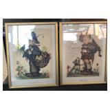 2 Hummel Prints