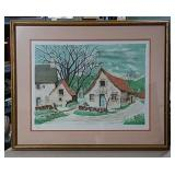 Limited Edition Lithograph by Boissy-Cottages