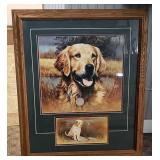 Larry Chandler Golden Retriever Wild Life Picture